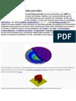 Ecuación en Derivadas Parciales (1)