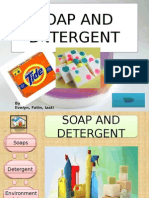 SOAP AND DETERGENT