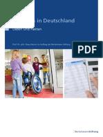 Inklusion in Deutschland Daten Und Fakten, 2015