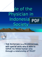 Role of the Physician DPES 2012