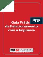 Manual de Relacionamento Com a Imprensa (MPSP)