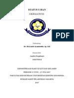 Cover Status Ujian Dermatitis
