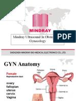 Mindray Ob&Gyn Application Training