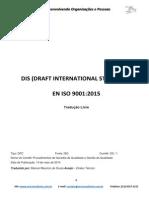 ISO DIS 9001 2015 Tradução Livre