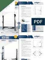 Ficha Tecnica Elevadores Modelo 4EC1800 y 4EB1005