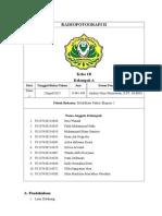 [Laporan Praktikum RF II] Kelompok a - Modifikasi Faktor Eksposi 2