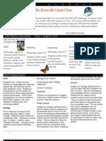 Room 10 Newsletter