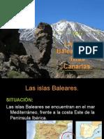 8 y 9 Las Islas Baleares y Las Islas Canarias