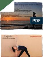 Yoga Para Aliviar El Estres