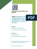Difficultés liées à la détermination de la valeur des marchandises à l'importation et conception .PDF