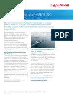 Exxonmobil Premium Afme 200 Fact Sheet
