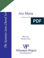 Ave Maria Kentaro Sato