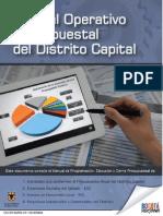Manual Operativo Presupuestal Del Distrito 2014
