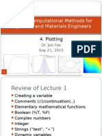 AP3114 Lecture WK4 Plotting