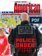 "The New American ""Police Under Fire"" Issue, September 21, 2015"