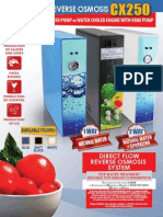Reverse Osmosis Direct Flow 70/102lt. hour
