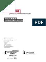 BCPM Catalogue 2015