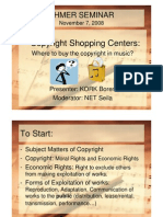 Copyright Shopping Centers