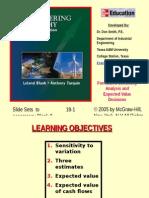 Chapter 18 - Sensitivity Analysis