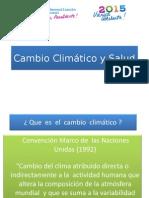 1. Cambio Climático