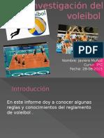 Investigación Del Voleibol