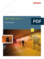 TEMS Pocket Lite User Manual