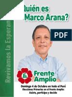 Quién es Marco Arana?