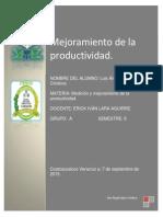 Pasos Para Mejorar La Productividad