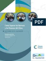 Como Superar Las Barreras a Las Finanzas Del Clima