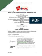 Ley Del Notariado 2015