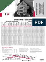 Patco Timetable
