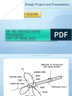Propeller Design Exp.