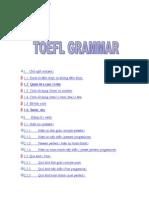 TOEFL Grammar
