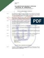 Reglamento UPT - TiTulo