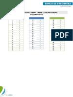 Endocrinologia - Banco de Preguntas 1 - Claves