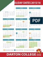 DC School Holiday Dates 2015_16