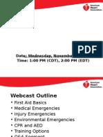 American Heart Association PPT - AIHA Webinar_final