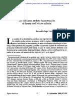 Los Milicianos Pardos y La Costrucción de La Raza en El México Colonial