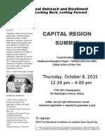 Capital District 2015 Regional Enrollment Summit 2015