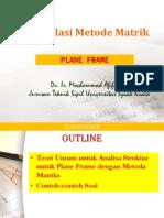 Martikulasi Metode Matriks Plane Frame 270820142