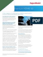 Exxonmobil Premium Hdme 50