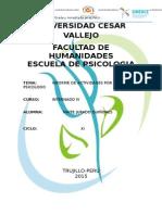Informe Del Dia Del PSICOLOGO