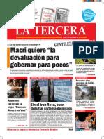 Diario La Tercera 08.09.2015