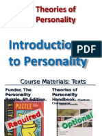 Intro to Personality Slides (PPT) (Jan. 7, 2015)