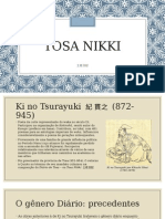 Tosa Nikki - Seminario