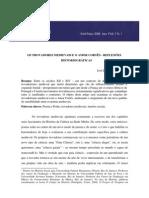 Os Trovadores Medievais e o Amor Cortês - reflexões historiográficas. BARROS, José D'Assunção. Alethéia, 2008