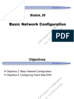 Module 08 - Basic Network Configuration