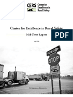 Center for Excellence in Rural Safety Policy Report