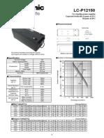 Panasonic Smf Vrla Battery 12v 150ah