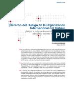 Derecho a La Huelga en La OIT